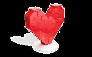 coeur Lego
