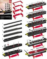 Notice de montage  LEGO 10021