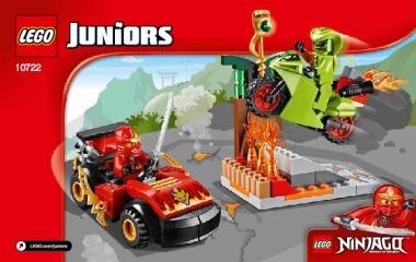 Notice de montage  LEGO 10722