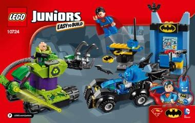 Notice de montage  LEGO 10724