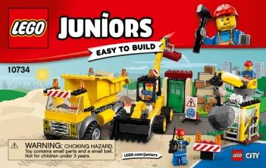 Notice de montage  LEGO 10734