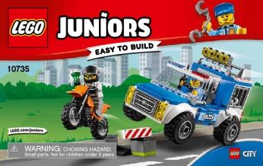 Notice de montage  LEGO 10735