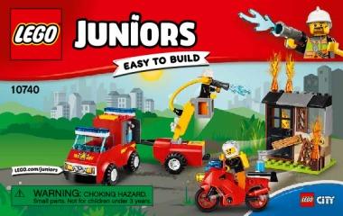 Notice de montage  LEGO 10740