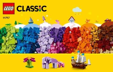 Notice de montage  LEGO 11717