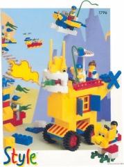 Notice de montage  LEGO 1796