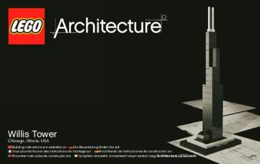 Notice de montage  LEGO 21000