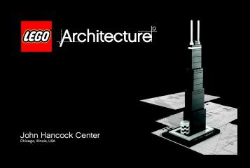 Notice de montage  LEGO 21001