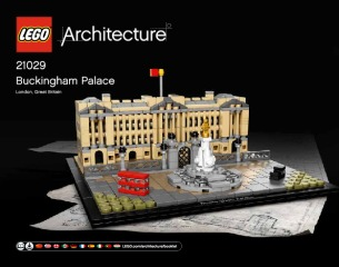 Notice de montage  LEGO 21029