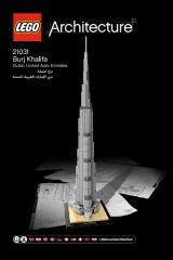 Notice de montage  LEGO 21031