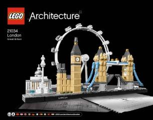 Notice de montage  LEGO 21034
