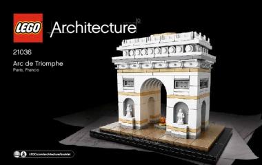Notice de montage  LEGO 21036