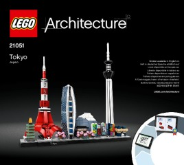 Notice de montage  LEGO 21051
