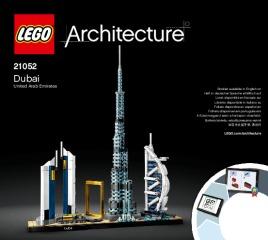 Notice de montage  LEGO 21052