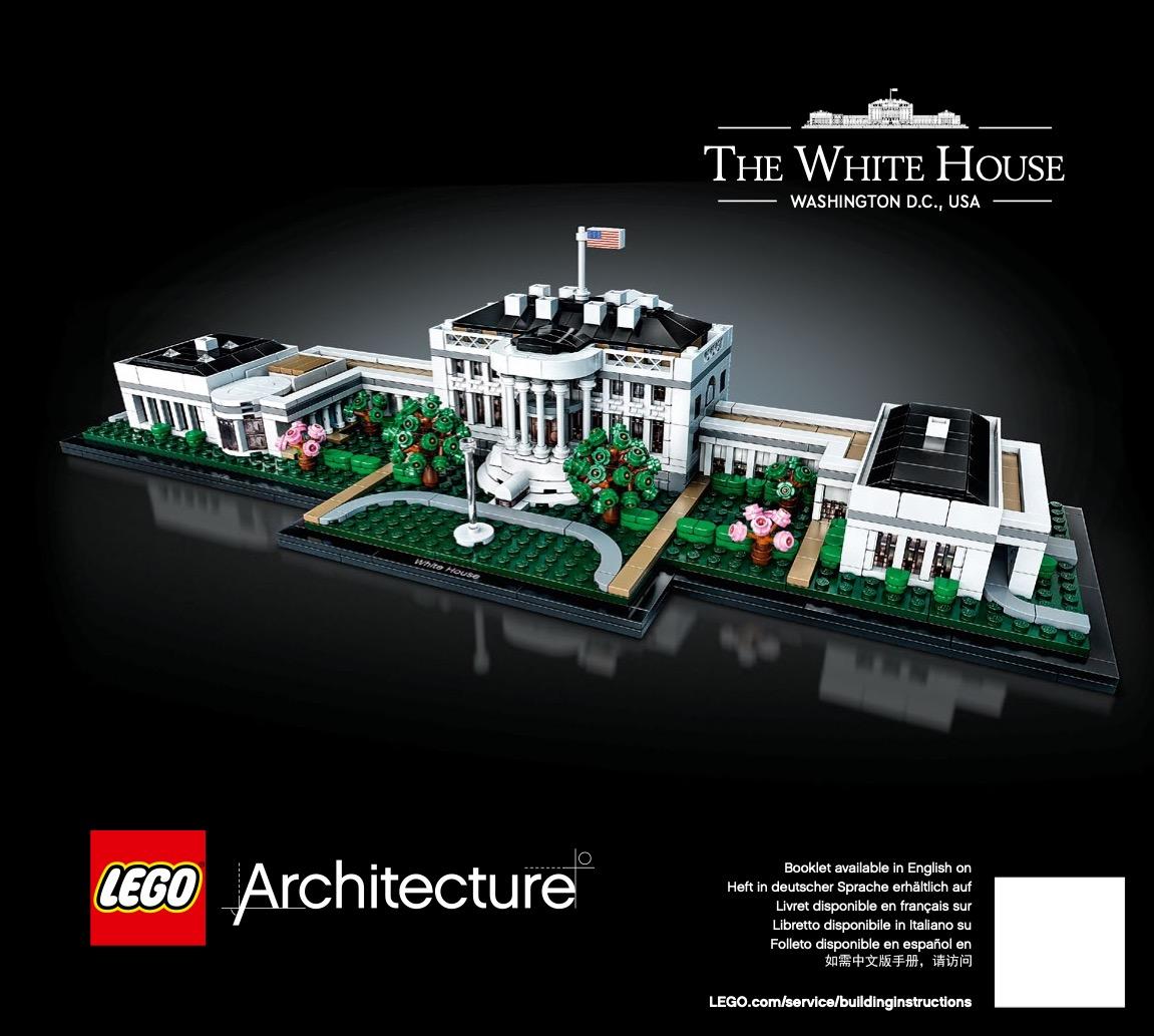 Notice de montage  LEGO 21054