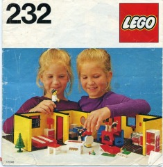Notice de montage  LEGO 232