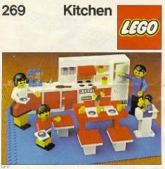 Notice de montage  LEGO 269