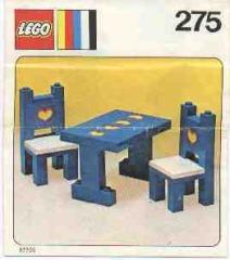 Notice de montage  LEGO 275