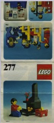 Notice de montage  LEGO 277