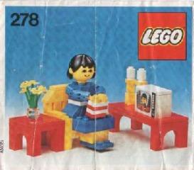 Notice de montage  LEGO 278
