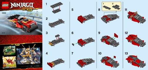 Notice de montage  LEGO 30536
