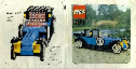 Notice de montage  LEGO 391