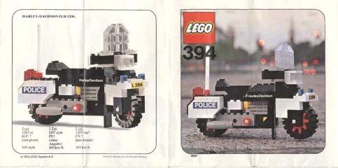 Notice de montage  LEGO 394