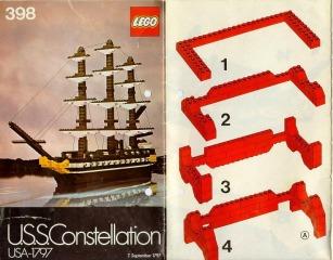 Notice de montage  LEGO 398