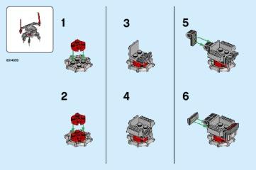 Notice de montage  LEGO 40374