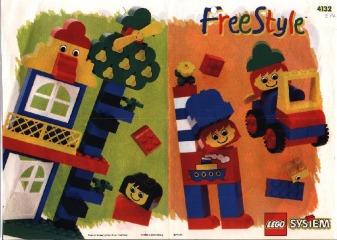 Notice de montage  LEGO 4132