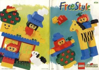 Notice de montage  LEGO 4134