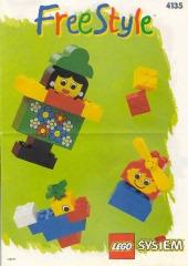 Notice de montage  LEGO 4135
