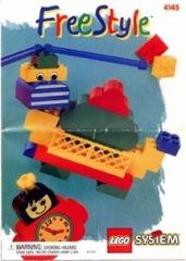 Notice de montage  LEGO 4145