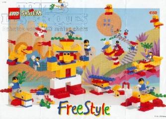 Notice de montage  LEGO 4150