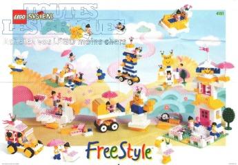 Notice de montage  LEGO 4151