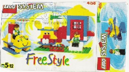 Notice de montage  LEGO 4158