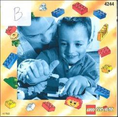 Notice de montage  LEGO 4244