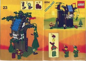 Notice de montage  LEGO 6054
