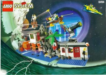 Notice de montage  LEGO 6494