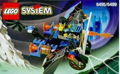 Notice de montage  LEGO 6495