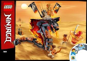 Notice de montage  LEGO 70674