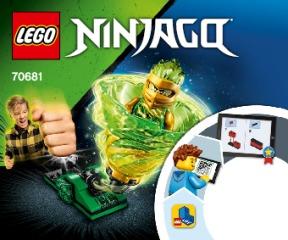 Notice de montage  LEGO 70681
