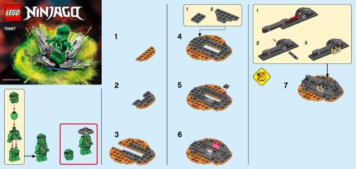 Notice de montage  LEGO 70687
