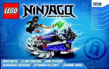 Notice de montage  LEGO 70720