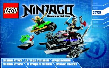 Notice de montage  LEGO 70722