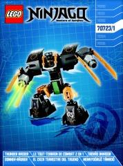 Notice de montage  LEGO 70723