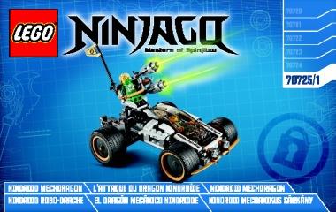 Notice de montage  LEGO 70725