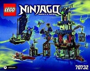 Notice de montage  LEGO 70732