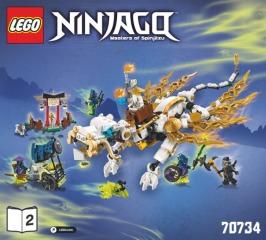 Notice de montage  LEGO 70734