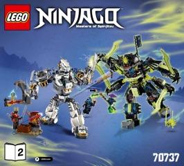 Notice de montage  LEGO 70737