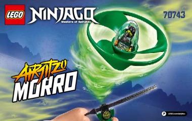 Notice de montage  LEGO 70743